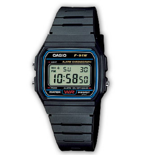 Orologio CASIO Collection - F-91W-1YER